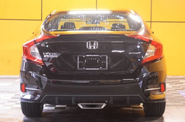 Certified Pre-Owned 2019 Honda Civic Sedan Sport