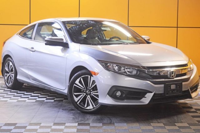 Certified Pre-Owned 2017 Honda Civic Coupe EX-L