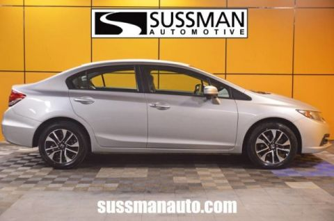 Certified Pre-Owned 2015 Honda Civic Sedan EX